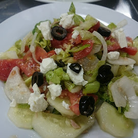 Greek Salad by Florante Lamando - Food & Drink Fruits & Vegetables