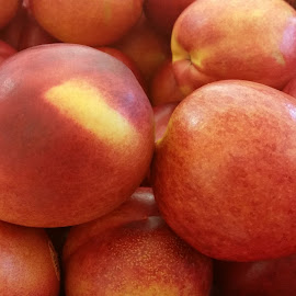 Sweet nectarines by Maricor Bayotas-Brizzi - Food & Drink Fruits & Vegetables
