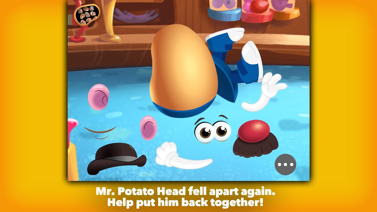 Mr. Potato Head: School Rush Screenshot 1