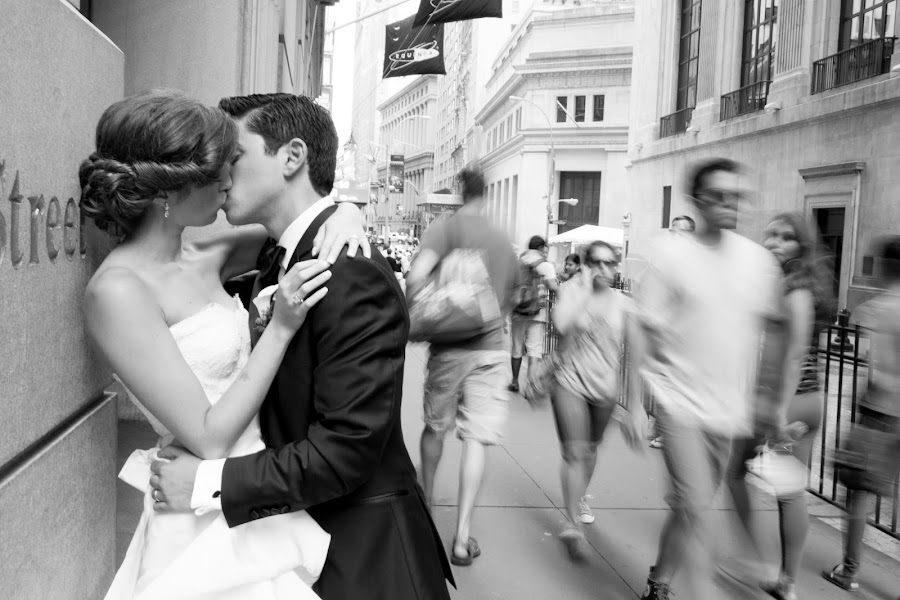 City by Drew Noel - Wedding Bride & Groom ( drew noel photography )