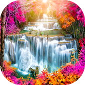 Waterfall Backgrounds Live HD APK for iPhone
