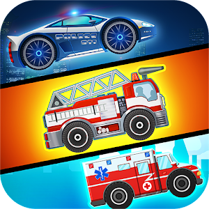 Emergency Car Racing Hero Icon