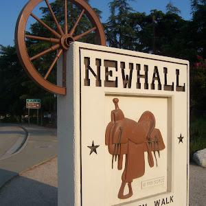 NEWHALL - Western Walk of Stars