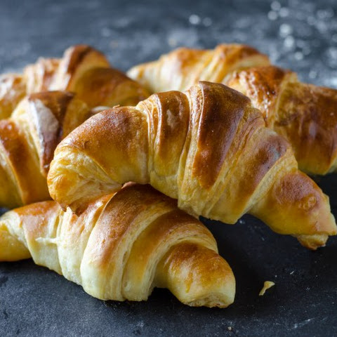 Flaky Butter Croissants