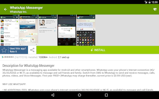Screenshot of Droid Informer