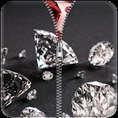 Diamond Zipper Screen Lock APK for Bluestacks