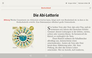 Screenshot of DER SPIEGEL