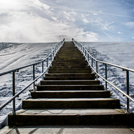 Winter's Stairway to Heaven by Sherry Smith - City,  Street & Park  City Parks (  )