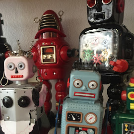Robot Toys by Kristin Cosgrove - Novices Only Objects & Still Life