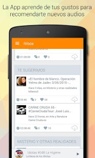 iVoox Podcast (Android 2.3) APK for Bluestacks