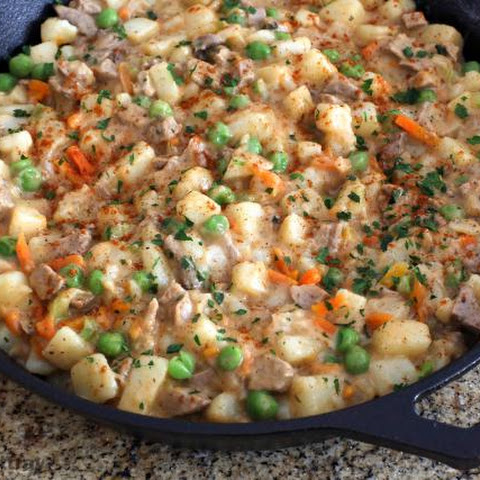 Leftover Pork and Potato Hash
