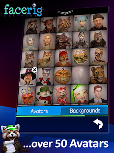 FaceRig Screenshot