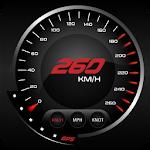 GPS Speedometer-Odometer DigitalMeter : HudView Icon
