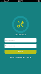City Maintenance - screenshot