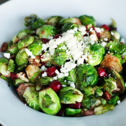 Brussels Sprouts and Cranberries