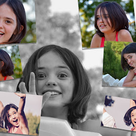 Amelia by Kathleen Koehlmoos - Digital Art People ( photo collage, collage, cute, personality, photo collages )