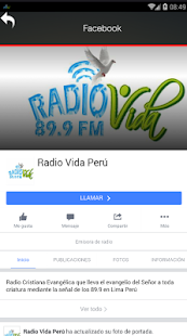Radio Vida Lima - screenshot