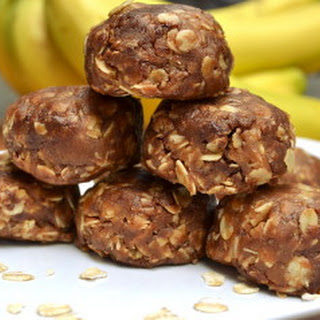 Chewy Peanut Butter Chocolate Oatmeal Bites - No Bake