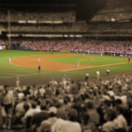 Out to the ballgame by Dan Allard - Sports & Fitness Baseball ( ballpark, ball, park, baseball, stadium, philadelphia, citizens bank park, phillies,  )