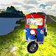 tuk tuk racing on the road