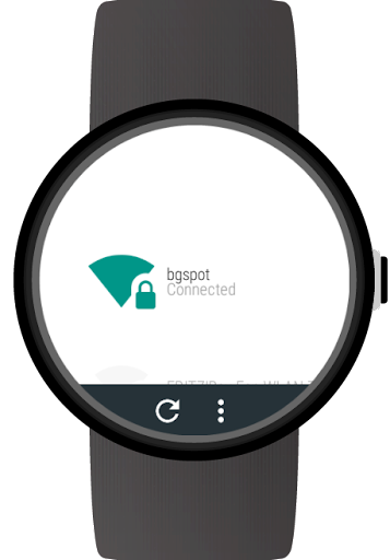 Wi-Fi Manager for Android Wear - screenshot