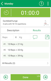 Fitness Trainer FULL version- screenshot thumbnail