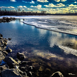 Enticing  by Mike Hotovy - Landscapes Waterscapes