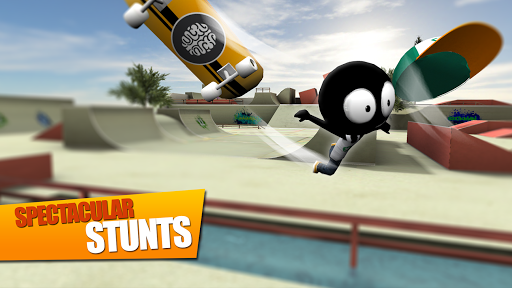 Stickman Skate Battle screenshot 5