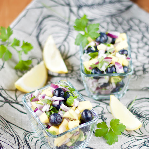 Mango Blueberry Salsa
