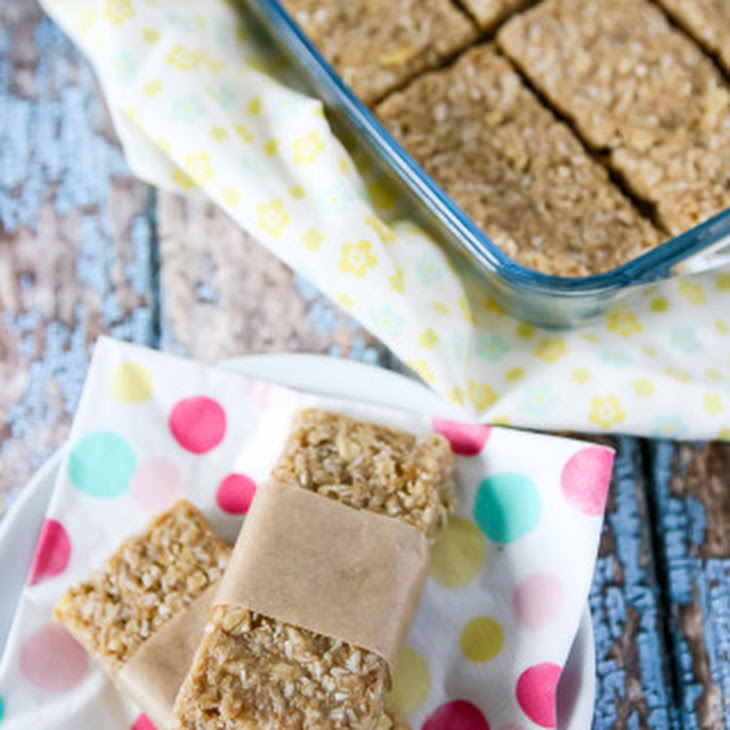 Tropical (Coconut, Pineapple and Banana) Granola Bars - Gluten and ...