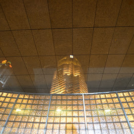 Reflection by Musaab Sami Al-Obeidy - Buildings & Architecture Office Buildings & Hotels ( public bank, malaysia, kuala-lumpur )