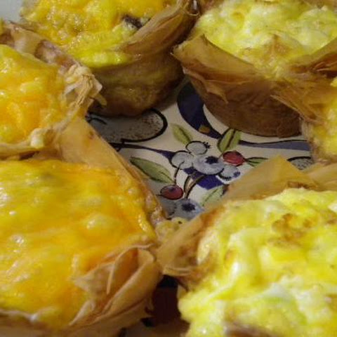 Breakfast Phyllo Cups