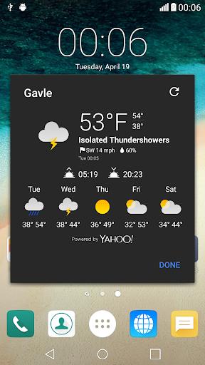 Lucid Weather Icon for Chronus - screenshot