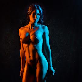 by Kelley Hurwitz Ahr - Nudes & Boudoir Artistic Nude ( studio, lori, lori studio, bg )