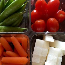 Crudités by Lope Piamonte Jr - Food & Drink Fruits & Vegetables