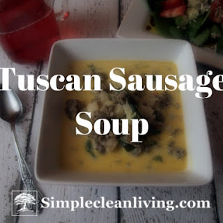 Tuscan Sausage Soup Recipes