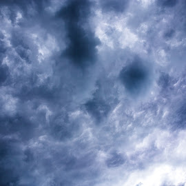 clouds by Gordon Bishop - Abstract Patterns ( patterns, weather, cloud, rain, formation )