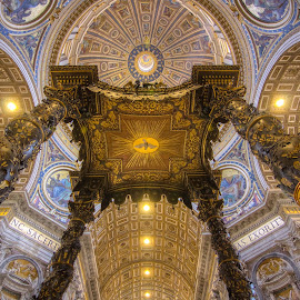 by G. Stetson - Buildings & Architecture Places of Worship ( saint peter's basilica, vatican )
