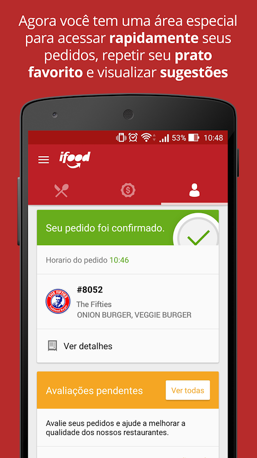 iFood - Delivery de Comida Screenshot 2