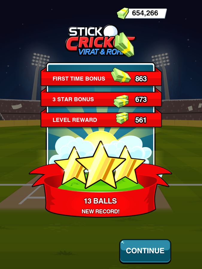Stick Cricket Virat & Rohit Screenshot 9