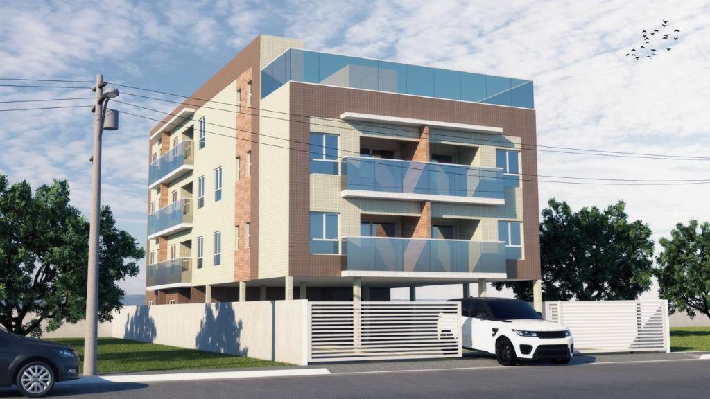 Apartamentos NOVOS, a partir de  R$ 105.300,00 em Carapibus.