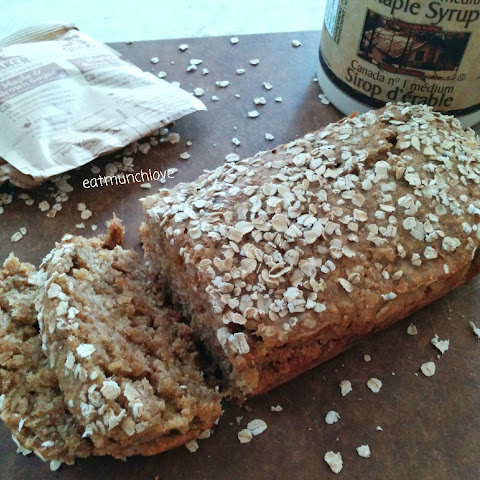 Maple Oatmeal Loaf Cake (vegan Friendly)