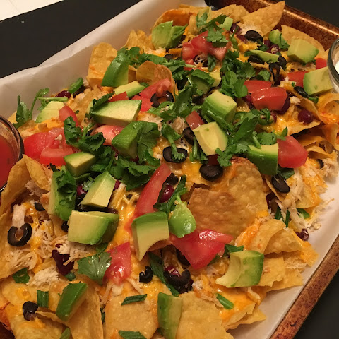 Loaded Double Bean Nachos