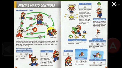 SNES Super Mari World - Story Board and Guide For PC