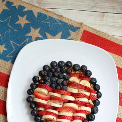 Celebrate the USA Flag Waffles