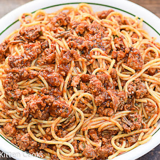 Meat Sauce with Mushrooms