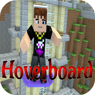 Hoverboard Mod for Minecraft - screenshot