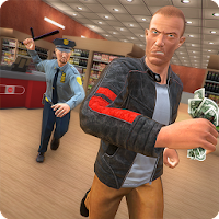 Supermarket Gangster Escape 3D For PC (Windows And Mac)