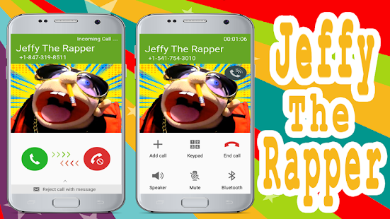 Jeffy The Rapper Puppet  Fake Call Prank