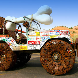 4Wheels to sell by Gérard CHATENET - Artistic Objects Other Objects